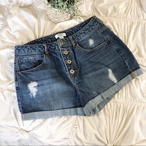 Forever 21 Button-Fly Shorts ✨
